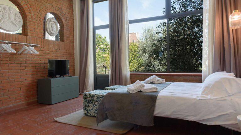 HOMY GARDEN camera da letto